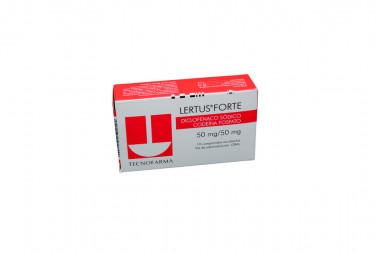 Lertus Forte 50 / 50 mg Caja Con 10 Comprimidos