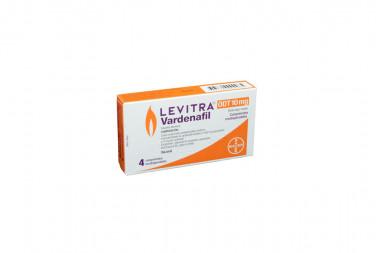 Levitra ODT 10 mg Caja Con 4 Comprimidos Orodispersables
