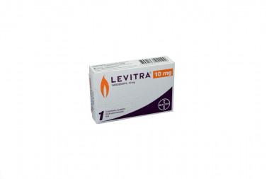 Levitra 10 mg Caja Con 1 Comprimido Recubierto