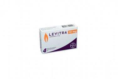 Levitra 10 mg Caja Con 4 Comprimidos Recubiertos