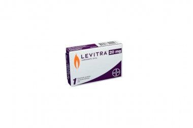 Levitra 20 mg Caja Con 1 Comprimido Recubierto