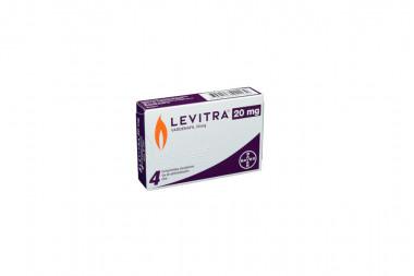 Levitra 20 mg Caja Con 4 Comprimidos Recubiertos