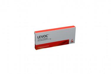 Levoc 5 mg Caja Con 10 Tabletas Recubiertas