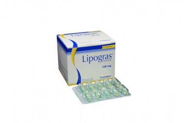 Lipogras 120 mg Caja Con 60 Cápsulas