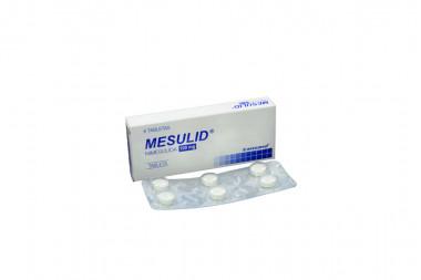 Mesulid 100 mg Caja Con 6 Tabletas