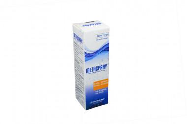 Metaspray 50 mcg Caja Con Spray Nasal Acuoso Con 18 mL