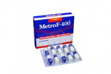 MetroF - 400 Caja Con 20 Cápsulas
