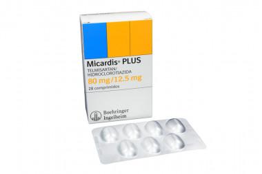 Micardis Plus 80 / 12.5 mg Caja Con 28 Comprimidos
