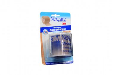 Micropore Nexcare Color Piel Rollo Con 48 mm X 5 m