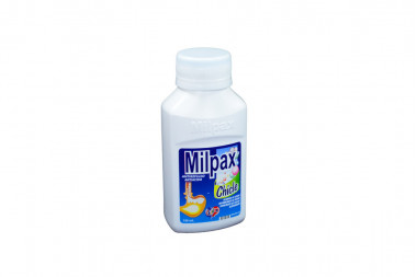 Milpax Frasco Con 150 mg - Sabor A Chicle