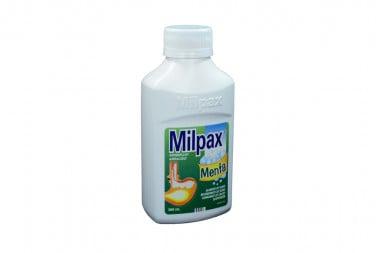 Milpax Frasco Con 360 mL - Sabor A Menta