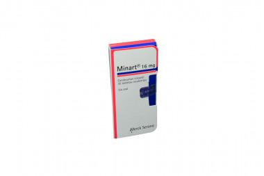 Minart 16 mg Caja Con 30 Tabletas Recubiertas