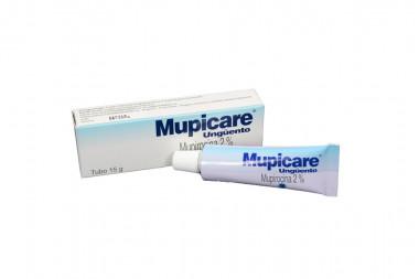 Mupicare En Ungüento 2 % Caja Con Tubo Con 15 g