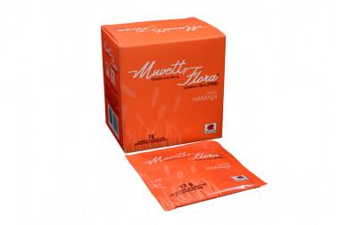 Muvett Flora Suspensión Oral Caja Con 10 Sachets De 12 g Sabor A Naranja