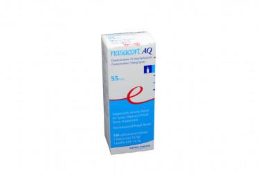 Nasacort AQ Suspensión Nasal 55 mcg Caja Con Spray Con 16.5 g