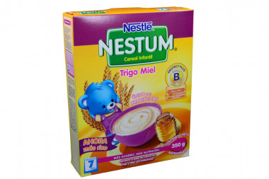 Nestum Cereal Infantil Caja x 350 g – Suplemento Alimenticio