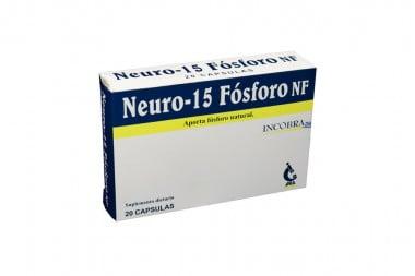 Neuro 15 Fósforo Nf Caja Con 20 Cápsulas