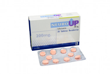 Neuro Up 200 mg Caja Con 30 Tabletas Recubiertas