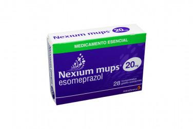 Nexium Mups 20 mg Caja Con 28 Comprimidos