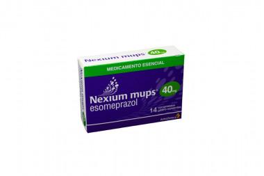 Nexium Mups 40 mg Caja Con 14 Comprimidos