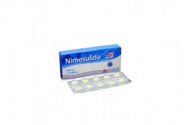 Nimesulida 100 mg Caja Con 10 Tabletas – Osteoartritis