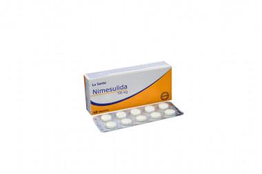 Nimesulida 100 mg Caja Con 10 Tabletas