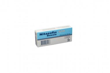 Nitazofin 500 mg Caja Con 6 Tabletas Recubiertas