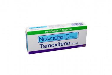 Nolvadex-D 20 mg Caja Con 30 Comprimidos