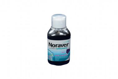 Noraver Garganta Frasco Con 120 mL - Sabor A Uva