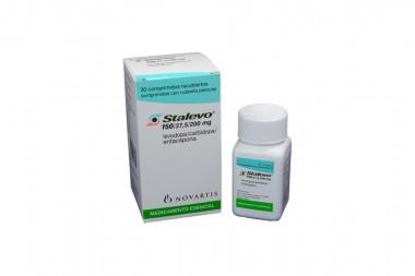 Stalevo 150 / 37,5 / 200 mg Caja Con Frasco Con 30 Comprimidos Recubiertos
