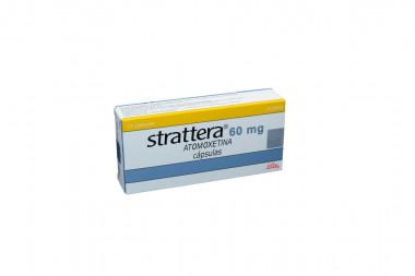 Strattera 60 mg Caja Con 14 Cápsulas