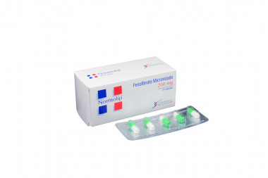 Normolip 200 mg Caja Con 20 Cápsulas