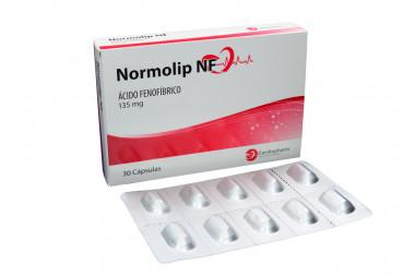 Normolip Nf 135 mg Caja Con 30 Cápsulas