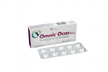 Omnic Ocas 0.4 mg Caja Con 30 Comprimidos Recubiertos