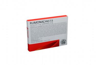 RUMONAL Pro 7.5 / 20 mg Caja Con 10 Cápsulas