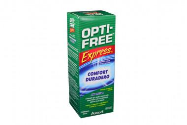 Opti-Free Express Caja Con Frasco Con 355 mL - Limpiador De Lentes