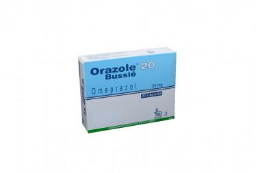 Orazole 20 mg Caja Con 30 Cápsulas
