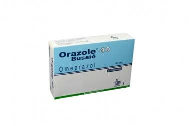 Orazole 40 mg Caja Con 30 Cápsulas