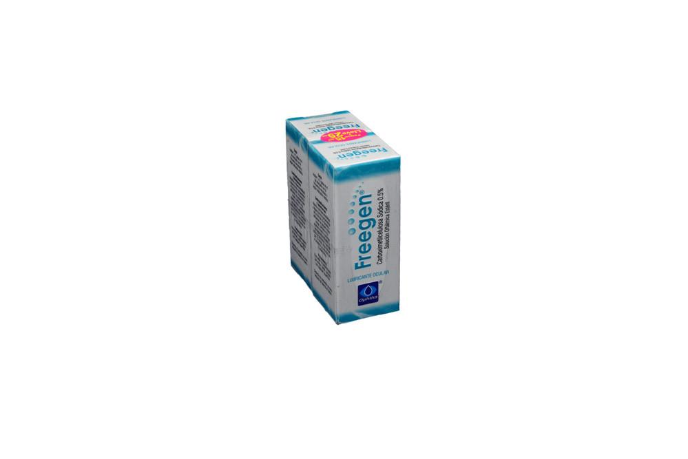 5fb96c824 Freegen Solución Oftálmica 0,5 % Empaque Con Caja Con Frasco Con 15 mL +