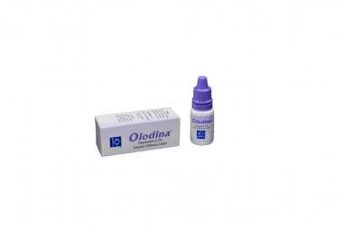 Olodina Solución Oftálmica 0.2 % Caja Con Frasco 5 mL