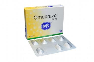 Omeprazol 20 mg Caja Con 14 Cápsulas