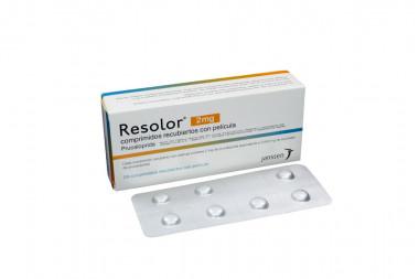 Resolor 2 mg Caja Con 28 Comprimidos Recubiertos Con Película