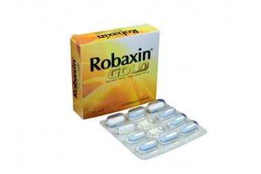 Robaxin Gold 200 / 500 mg Caja Con 20 Tabletas Recubiertas