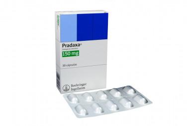 Pradaxa 150 mg Caja Con 30 Cápsulas