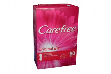 Carefree Original Caja Con 60 Protectores Diarios