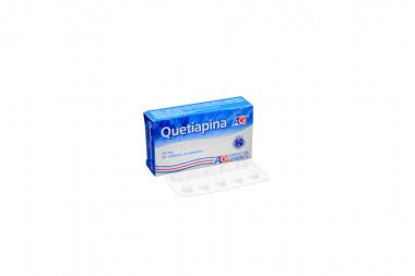 Quetiapina 25 mg Caja x 30 Tabletas Recubiertas - American Generics S.A.