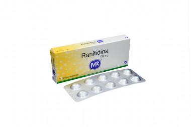 Ranitidina 150 mg Caja x 10 Tabletas Recubiertas – Tecnoquímicas S.A