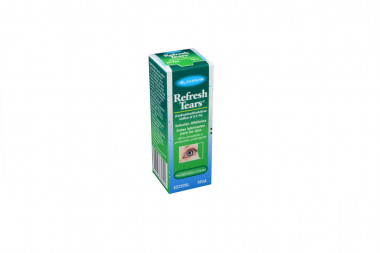 Refresh Tears Caja Con Frasco Gotero x 10 mL - Lubricante Ocular