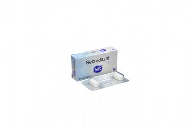 Secnidazol 1 g Caja Con 2 Tabletas Cubiertas