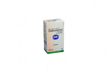 Salbutamol 100 mcg Caja Con Frasco Inhalador Con 200 Dosis